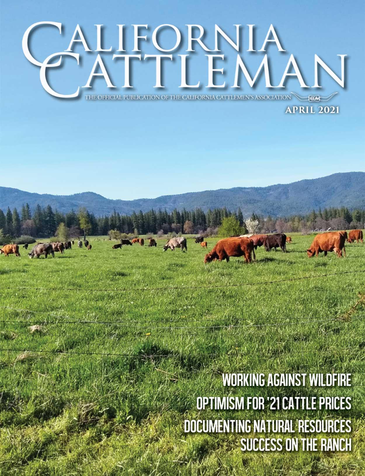 April Magazine Cover